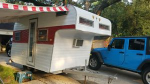 16ft vintage travel trailer-ready to camp! {url removed} for Sale in Spring, TX