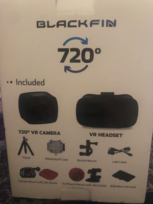 Panoramic VR Camera + Headset NEW IN BOX NEVER OPEN for Sale in Industry, CA