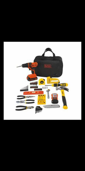Black & Decker Stanley 85 piece project kit for Sale in Elk Grove, CA