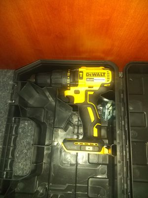 Dewalt brushless hammer drill (tool only) and hard case for Sale in Garner, NC