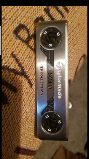 NEW! TAYLORMADE SOTO TP COLLECTION GOLF CLUB PUTTER for Sale in Grand Prairie, TX
