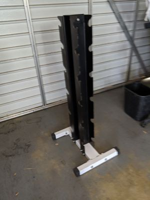 Commercial gym vertical dumbbell rack workout for Sale in San Gabriel, CA