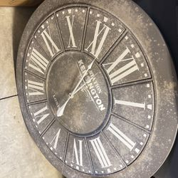 Large Decorative Clock for Sale in Canby,  OR