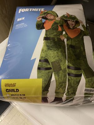 Fortnite Rex Halloween Costume for Sale in Ellwood City, PA
