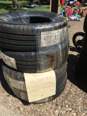 New Kumho Solus 195/65 R15 Tires for Sale in Cohasset, CA