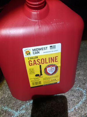 Fuel Cans - 5 Gallons for Sale in Plano, TX
