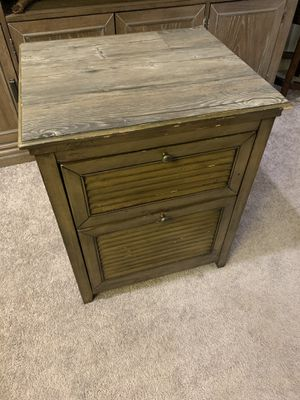 Wood Night stand for Sale in Ontario, CA