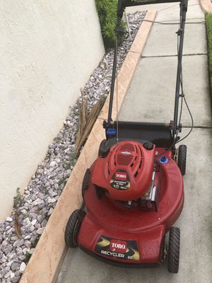 Red toro bull recycler lawn mower personal pace mower works perfect for Sale in Miramar, FL