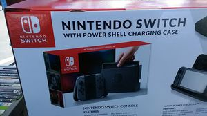 Nintendo switch with power shell charging case for Sale in Hesperia, CA