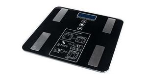Digital bathroom scale with body fat and BMI tracking and backlit LCD display for Sale in Oxford, NC
