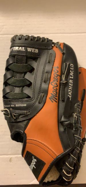 Macgregor BBBGVARX Full Grain Leather Deep Pocket Baseball Glove for Sale in Pittsburgh, PA
