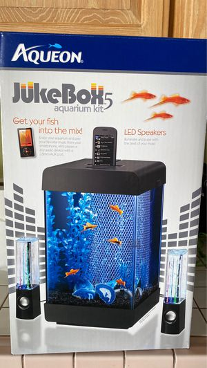 Aqueon 5 gal fish tank for Sale in Whittier, CA