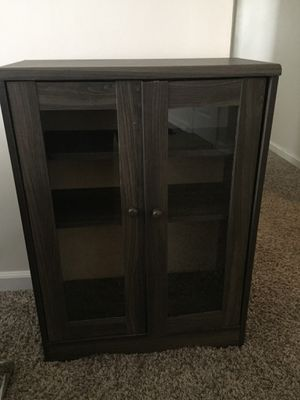 New Amazing Affordable Glass Bookcase with Matching Tv Stand for Sale in Greensboro, NC