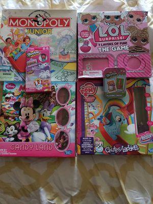 Lot of Girls Kids Games for Sale in Cedar Park, TX