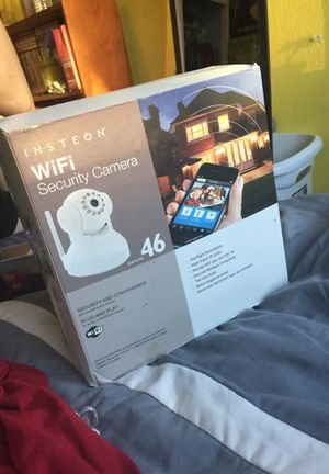 Wifi security camera for Sale in Stockton, CA