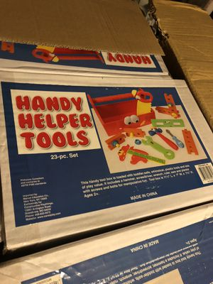 New Handy Helper Toy Tool Kit for Sale in Saint Joseph, MO