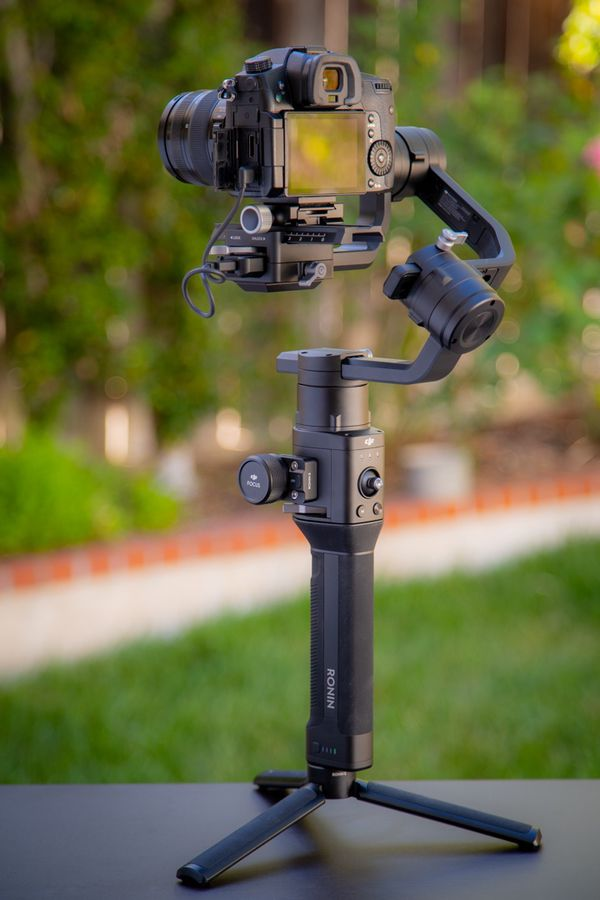 DJI Ronin S with Command Unit