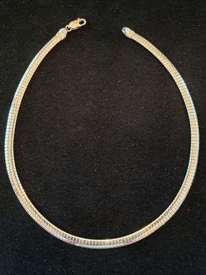 $50! Vintage STERLING KIM KOREA 925 necklace that weighs 28.1 g. It is 16 inches long. It's in great condition. Stamped KIM Korea 925. for Sale in Indian Shores, FL