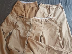 Men's Khaki Pants ($25 for All) - $8 EACH for Sale in Vancouver, WA