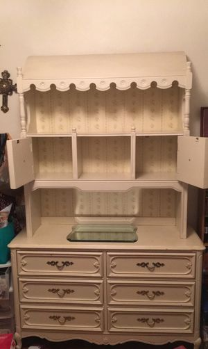 Vintage Dresser, TV Stand, Desk, and End Table for Sale in Colorado Springs, CO