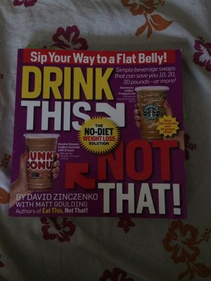 Sip Your Way to a Flat Belly; The No-Diet Weight Loss Solution for Sale in Moreno Valley, CA