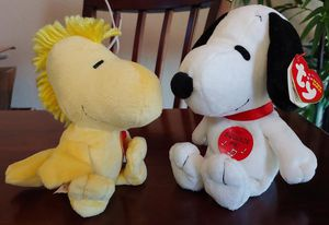 2010 Peanuts Snoopy & Woodstock Ty Beanie Babies for Sale in Kyle, TX