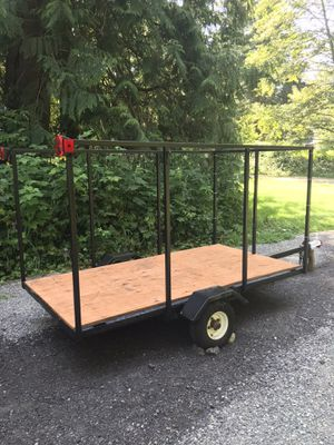 Utility Trailer 4x7 No license/title for Sale in Sumner, WA