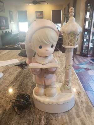 Precious Moments Vintage 16-3/4 inch tall animated figurine for Sale in Leesburg, VA