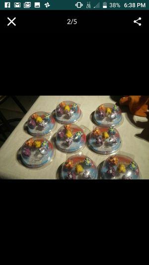POKEMON CAKE TOPPERS MINI RINGS. for Sale in Las Vegas, NV