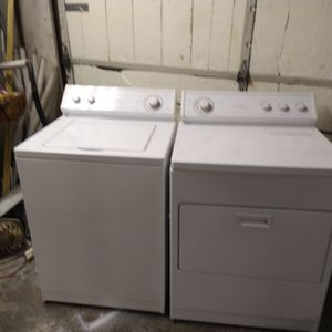 Nice Set Of Whirlpools Heavy Duty Washer And Dryer Imperial Series 7 Cycle For Temperature for Sale in Indianapolis, IN