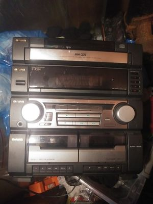 Aiwa receiver with speakers for Sale in Aberdeen, WA