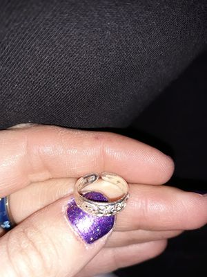 Sterling silver toe ring for Sale in Colorado Springs, CO