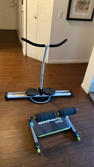 2 machines for exercise focused in women's for Sale in West Palm Beach, FL