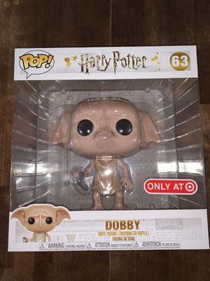 Funko POP! Harry Potter 10 Inch Dobby #63 Target Exclusive NEW for Sale in Miami, FL