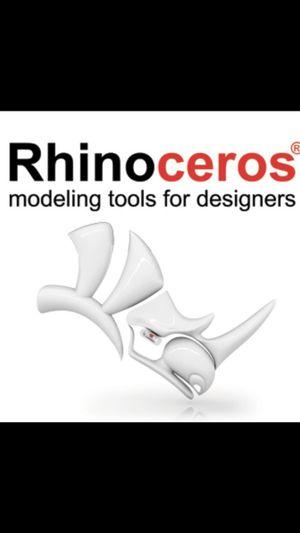 Rhino 6 Rhinoceros 3D Windows 64bit for Sale in Brooklyn, NY