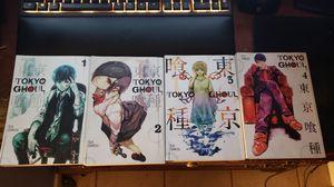 Tokyo Ghoul manga 1 - 4 for Sale in Arlington, TX