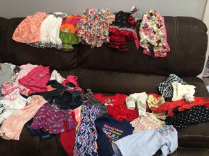 Lot of designer baby girl clothes for Sale in Tampa, FL