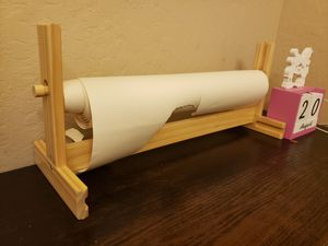 Kids desk art paper roll holder for Sale in Glendale, AZ