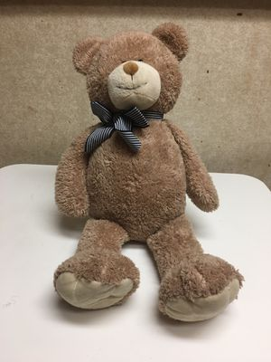 Brown stuffed bear with ribbon for Sale in Orlando, FL