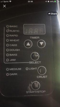 Food Network bread maker for Sale in Oakland,  CA