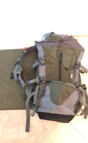 50 liter back pack with 2 three season sleeping bags used twice for Sale in Tamarac, FL