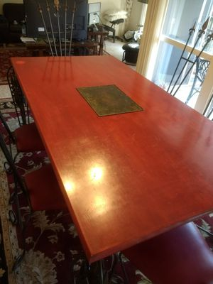 """game of thrones"" style dining table for Sale in Colma, CA"