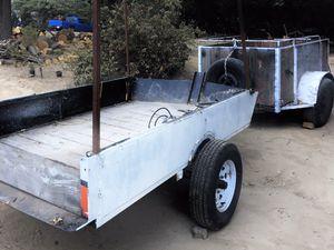 tilt bed utility trailer. / dump trailer for Sale in Lake Arrowhead, CA