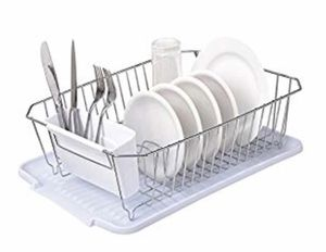 Modern Steel Dish Drying Rack Kitchen Draining for Sale in Boston, MA