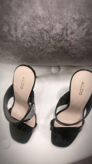 ALDO Black Sandals High Heels Size 6 1/2 for Sale in Los Angeles, CA