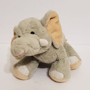 Ganz Webkinz Velvety Elephant Plush Gray Stuffed Animal With Tusks Soft Toy for Sale in La Grange Park, IL