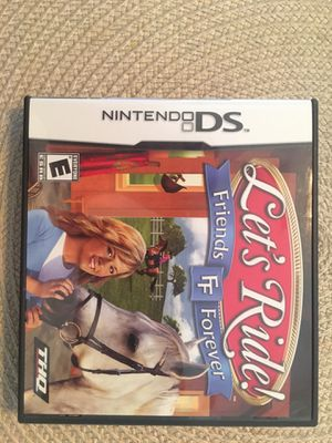 Nintendo ds let's ride friends forever for Sale in Visalia, CA