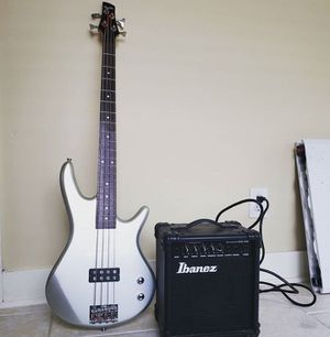 Ibanez gio bass guitar and amp for Sale in Vancouver, WA