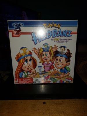 Pokemon xy headbandz board game for Sale in Spanaway, WA