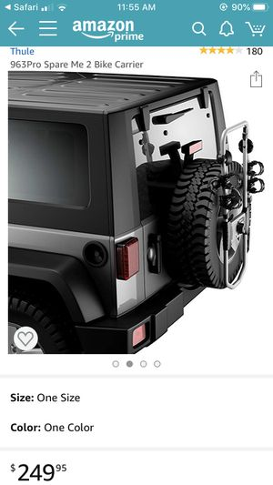 THULE Spare Tire Mount Rack for Sale in Chicago, IL